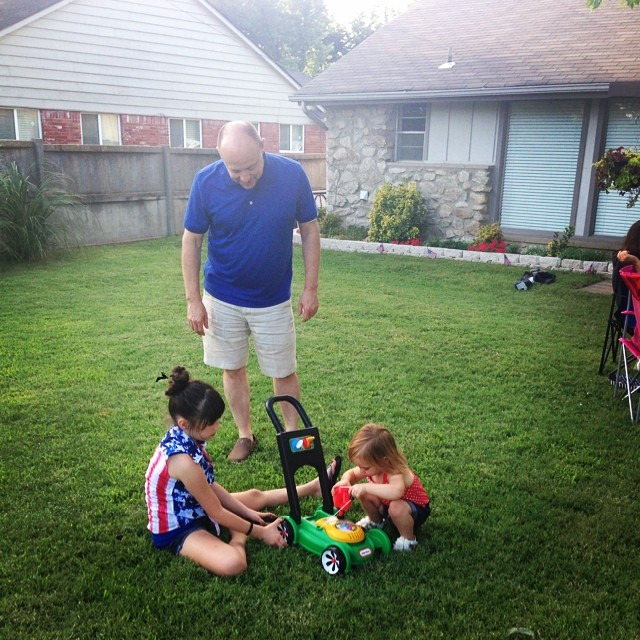 Lesson on lawnmowers from GPA