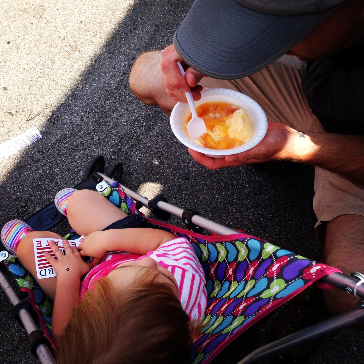 Peaches with Elisa