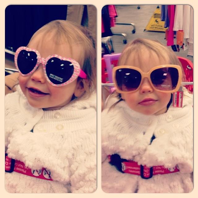 Rocking some sunglasses