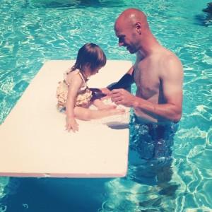 Swimming with Josh