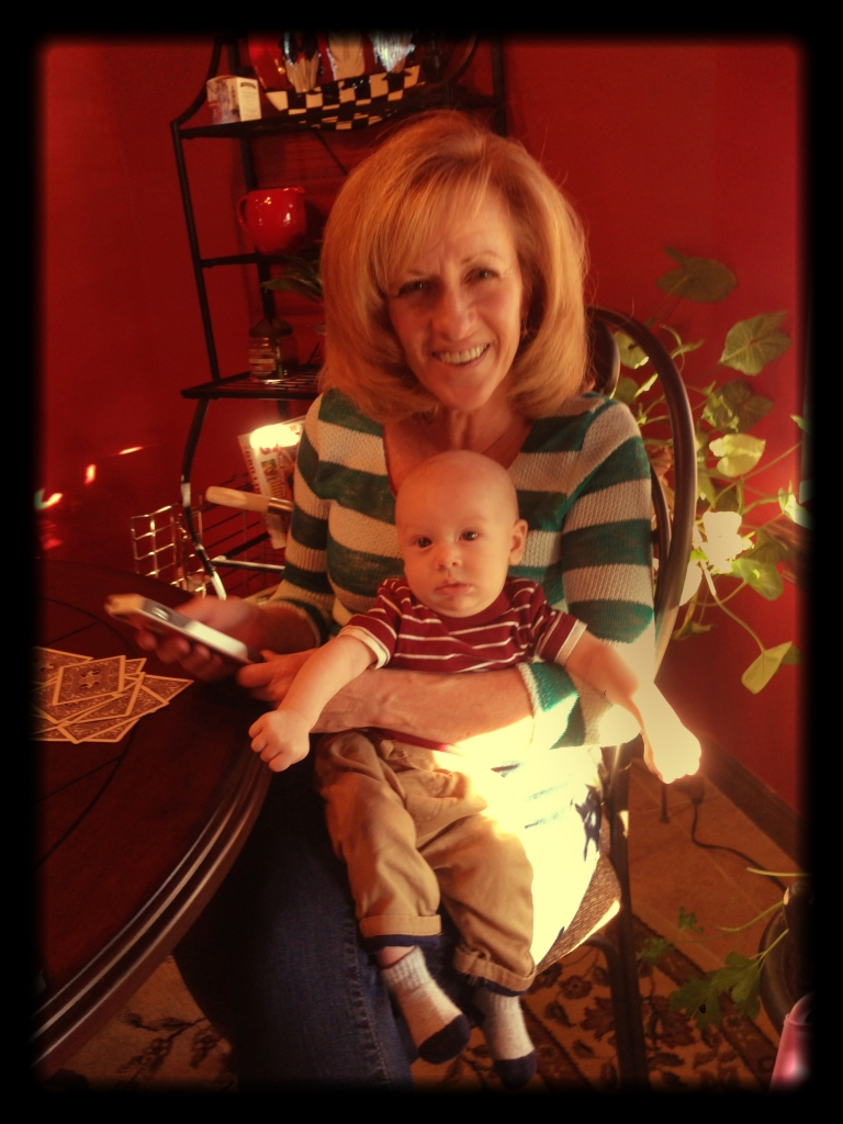 Everett with Nana
