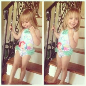 Elisa Ariel swimsuit