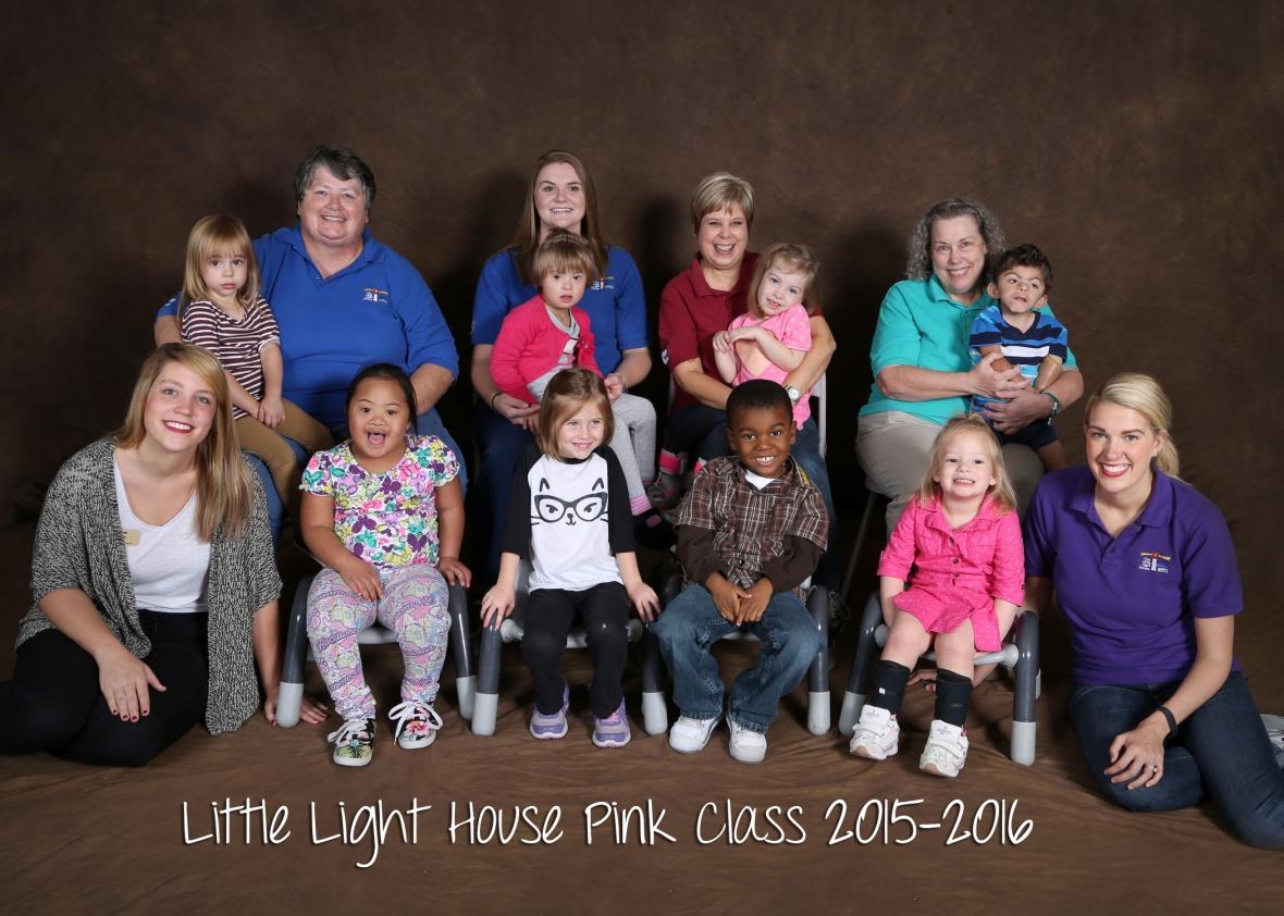 Pink Class 2015-2016